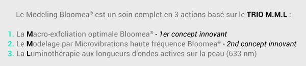 Modeling Bloomea en 3 actions